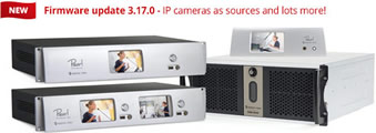 Firmware update 3.17.0 - IP cameras as sources and lots more!