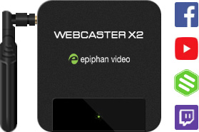 Webcaster X2
